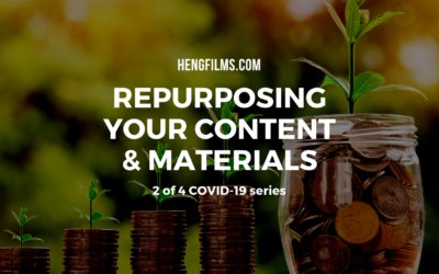 Repurposing old content & materials