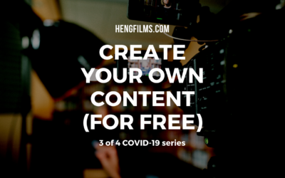 Create your own content easily (for free)