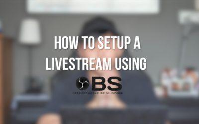 [VIDEO] How to setup a Livestream?